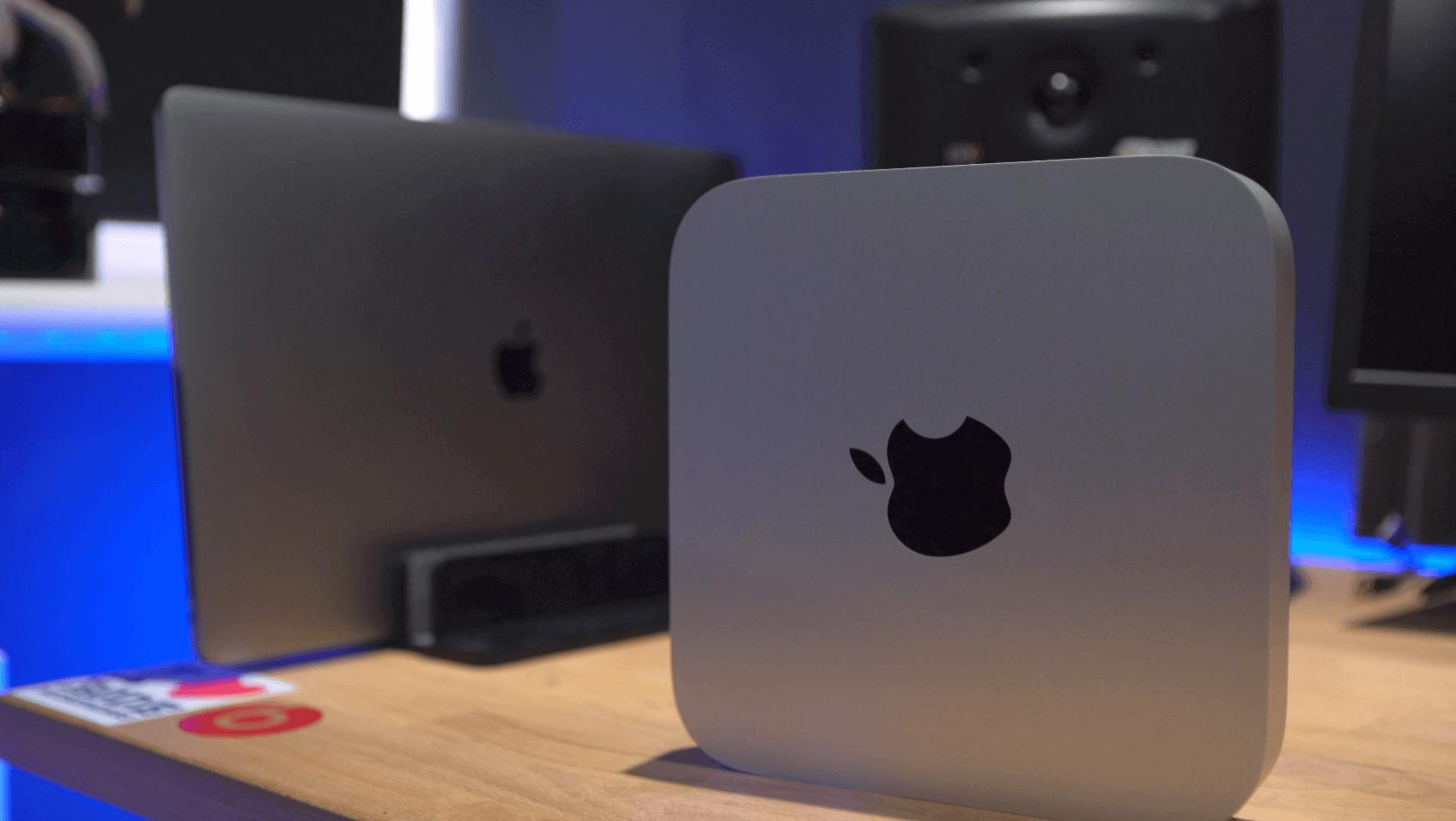 "m1 Mac mini vs 16"" MacBook Pro"