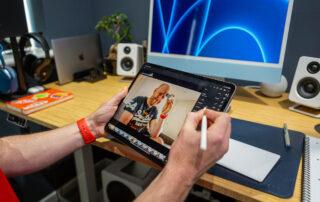 Photo editing on the iPad Pro
