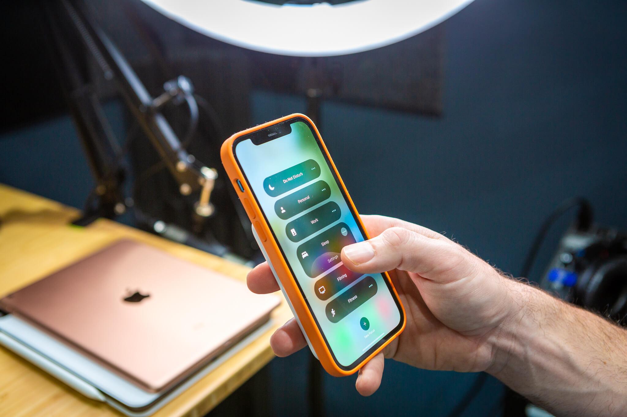 iOS 15 focus modes