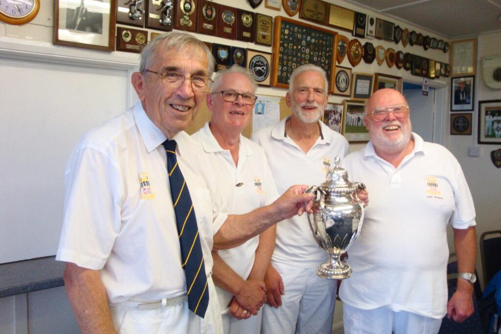 Axon Cup Winners - Rick Tatchell, Brian Halsey and John Robins