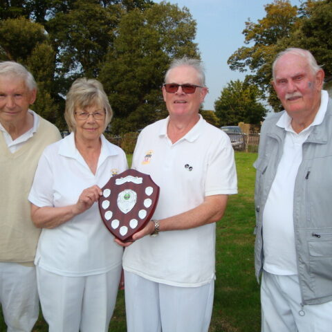 Peter Nelson Shield - Mike Ebdon, Rick Tatchell and John Horne