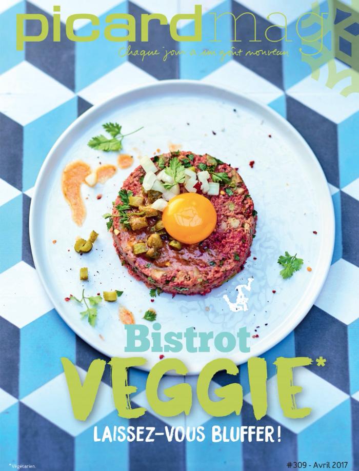 Auteur Cécile Maslakian portfolio Magazines de Marques Picard numéro 309 Picardmag Bistrot Veggie
