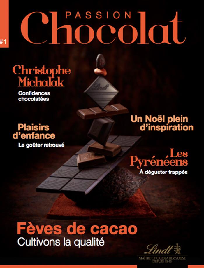 Auteur Cécile Maslakian portfolio Magazines de Marques Lindt numéro 1 Passion Chocolat