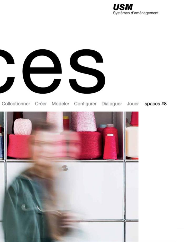 Auteur Cécile Maslakian portfolio Magazines de Marques USM Spaces article sue École Duperré Paris France