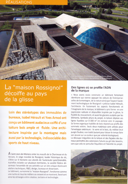 Cecile Maslakian copywriter reportages sequences BOIS masion ROSSIGNOL article