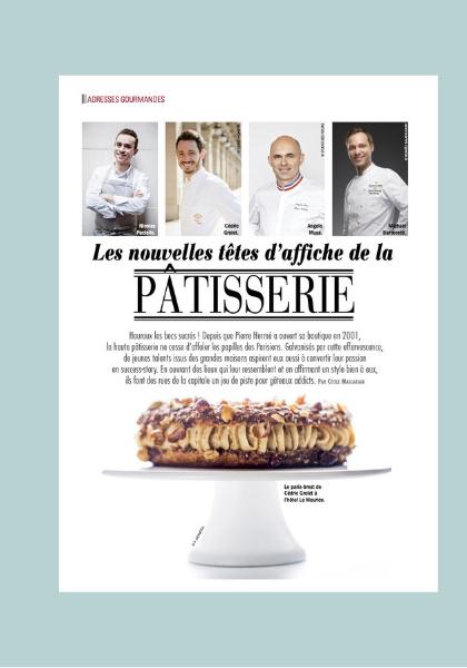 Cecile Maslakian copywriter reportages articles paris capitale chefs PATISSIERS