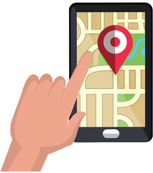 Mobile Phone Map1