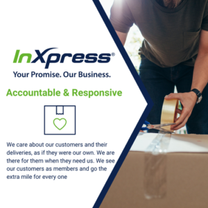 inxpress accountable and responsive
