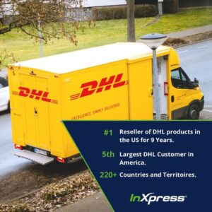 inxpress international shipping with dhl