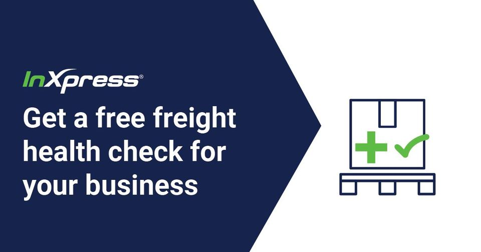 inxpress free freight health check