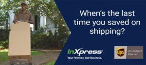 inxpress saving on shipping