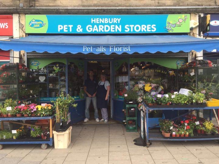 Image of Henbury Pet stores shop front