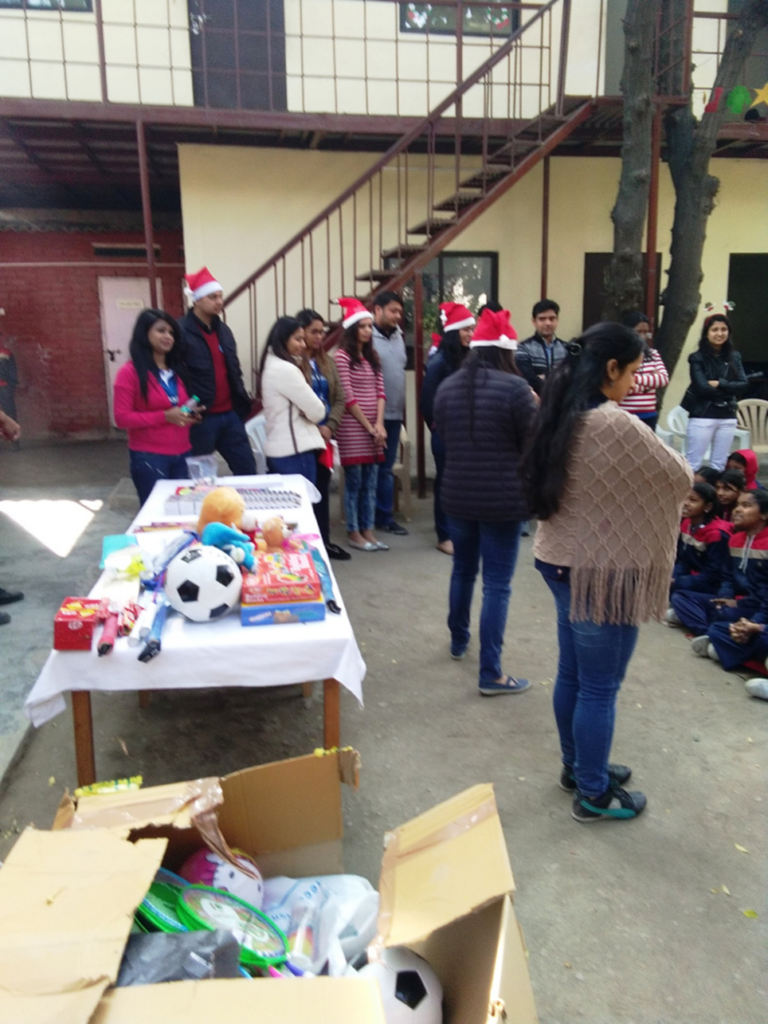 Blackrock visits Diksha for Christmas