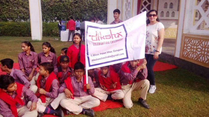 Diksha invited to Cricket Match.
