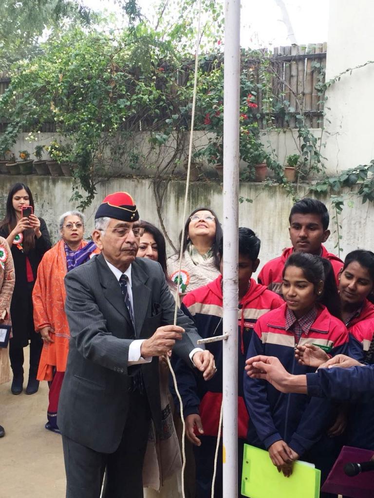 Republic Day 2018 Celebrations at Diksha