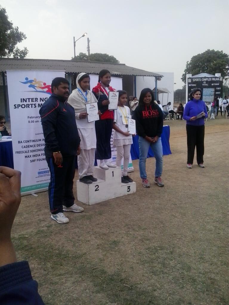 Diksha Excels at Inter-NGO Sports Meet