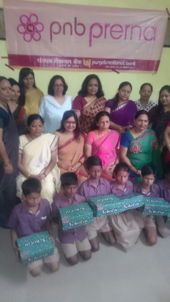 Prerna Ladies Club (PNB) spends day with Diksha Children
