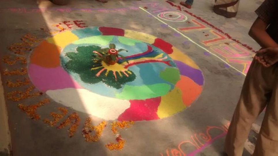 Rangoli the Diksha Way 2016