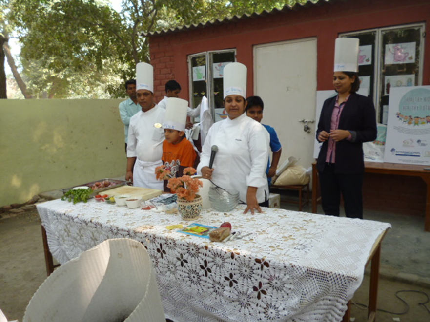 Workshop by ITC Hotel for Budding Chefs
