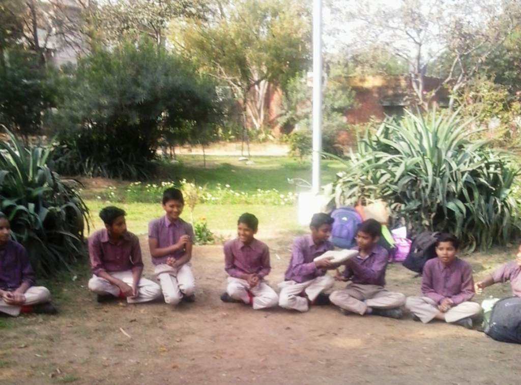 Intermediate classes enjoy a picnic!
