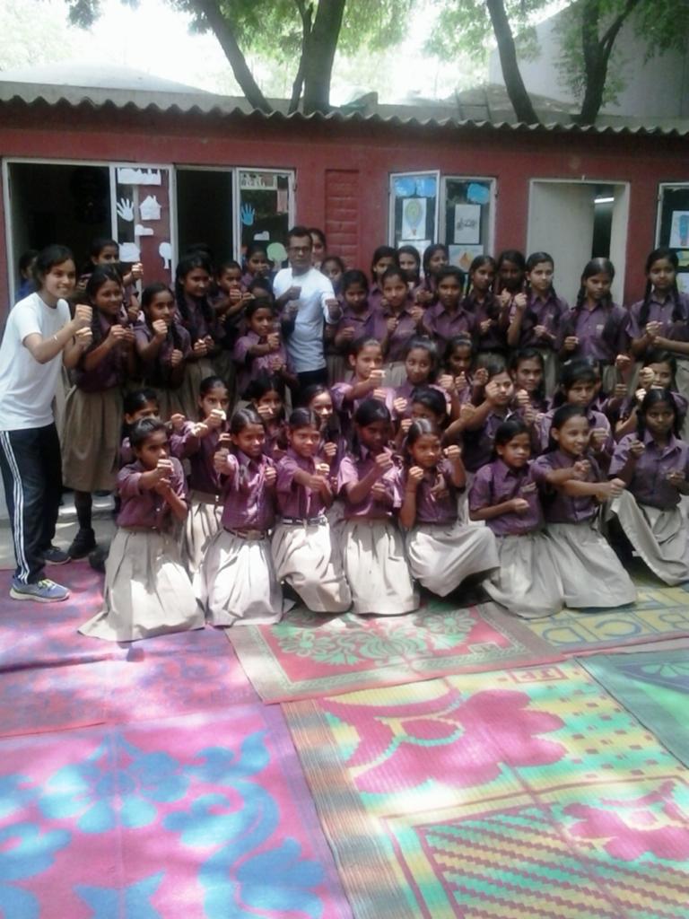 OHC offers Self-Defence Workshop for Diksha Girls
