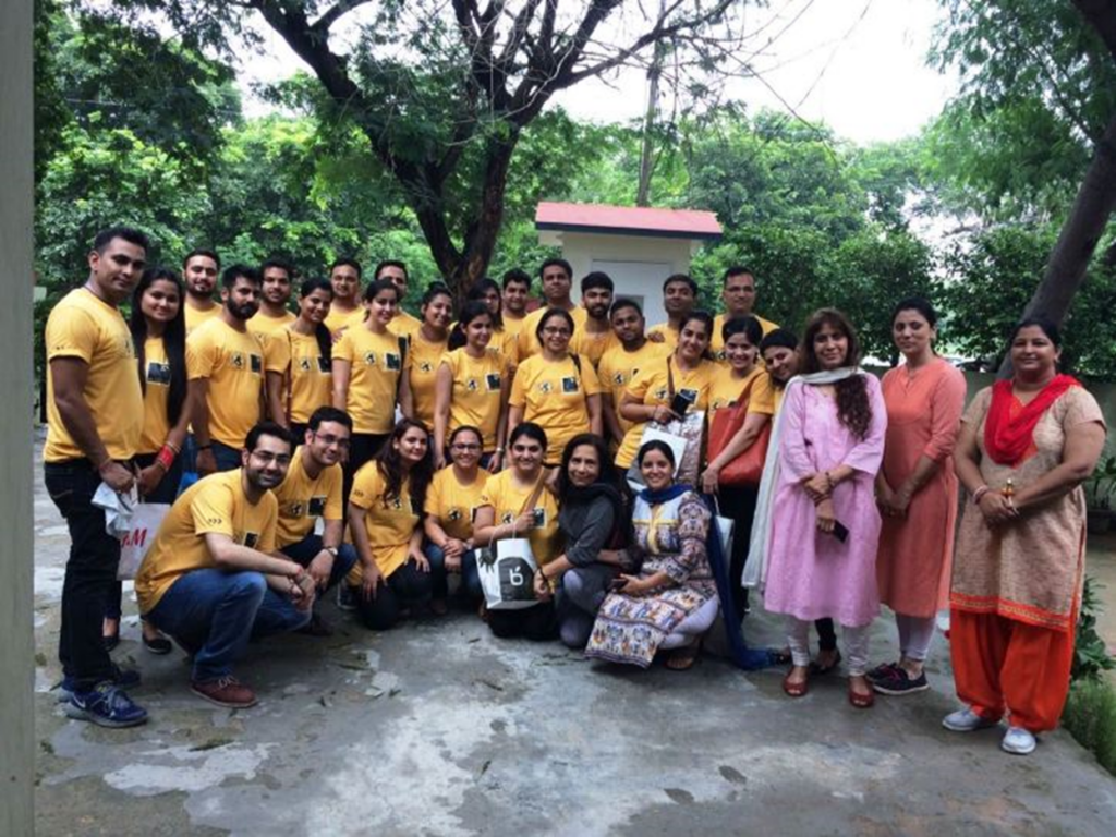 XL India spends their Global Day of Giving at Diksha