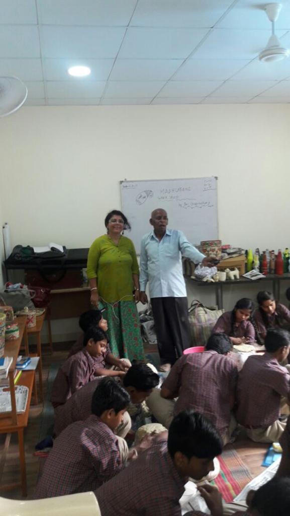 Basics of Madhubani at Diksha