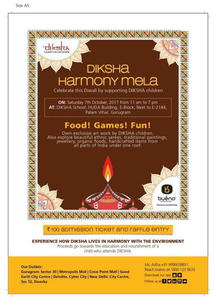 2017 Diksha Harmony Diwali Mela