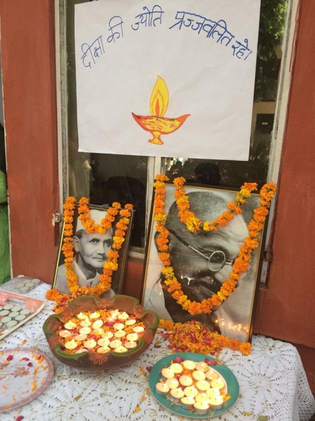 Celebrating Gandhi & Shastri Jayanti at Diksha