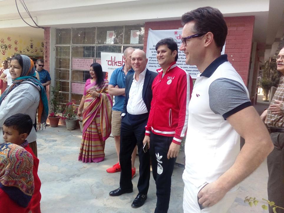 British Telecom Procurement Team visits Diksha