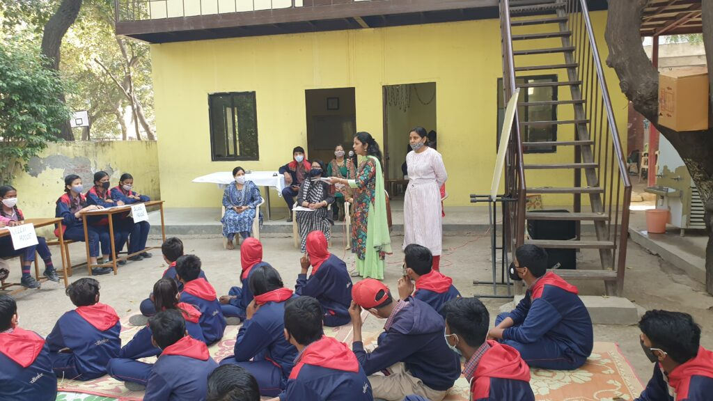 Hindi Inter House Spell Bee Competition