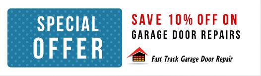 Save 10% Off on Garage door Repairs