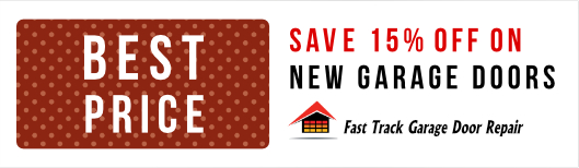 Save 15% OFF on New garage doors