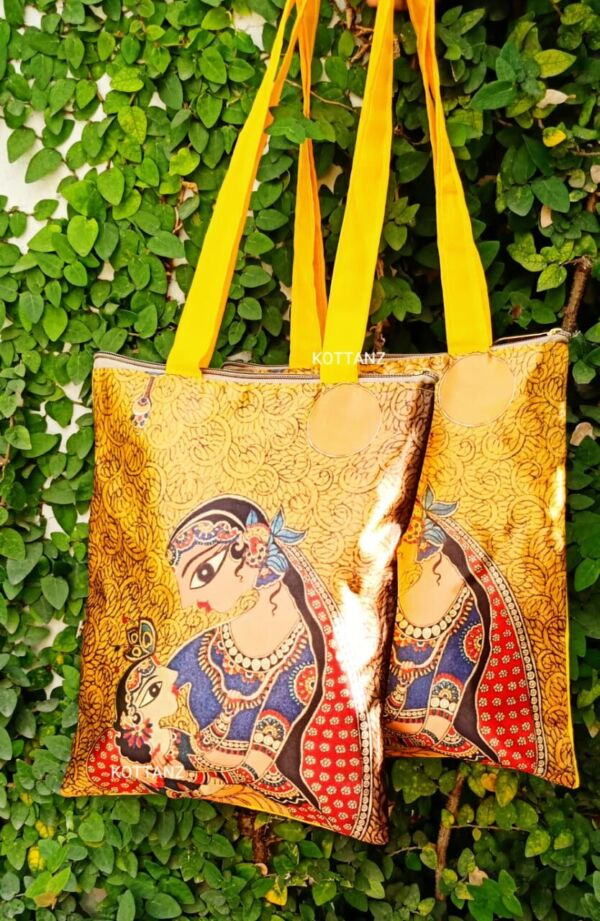 Digital print yasodha and krishna