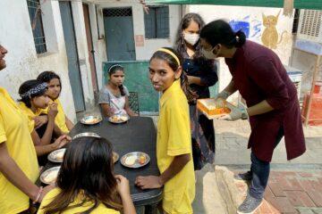 Beyond Meds Foundation Team With Kids of Prabhat An Awakening NGO