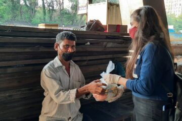 Food Donation Drive by Beyond Meds Thane
