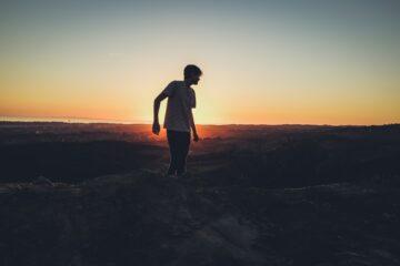 standing, creating boundaries