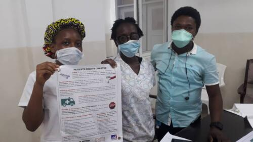NETHIPS with support from Solthis has embarks on the popularization of the findings of the Stigma Index report  and the Pataint Right Charter  in health facilities