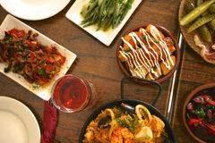 Image of food seved at Pinchos restaurant