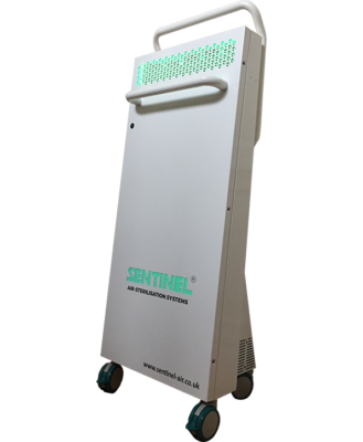 Sentinel slim air purification portable unit