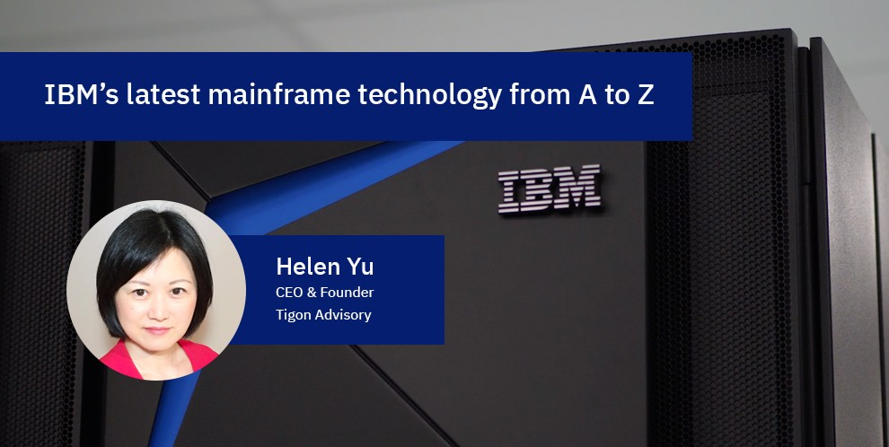 IBM's latest mainframe technology from A to Z