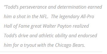 Underdog 34 and Associates, Todd Burks, Motivate Scholar Athletes,