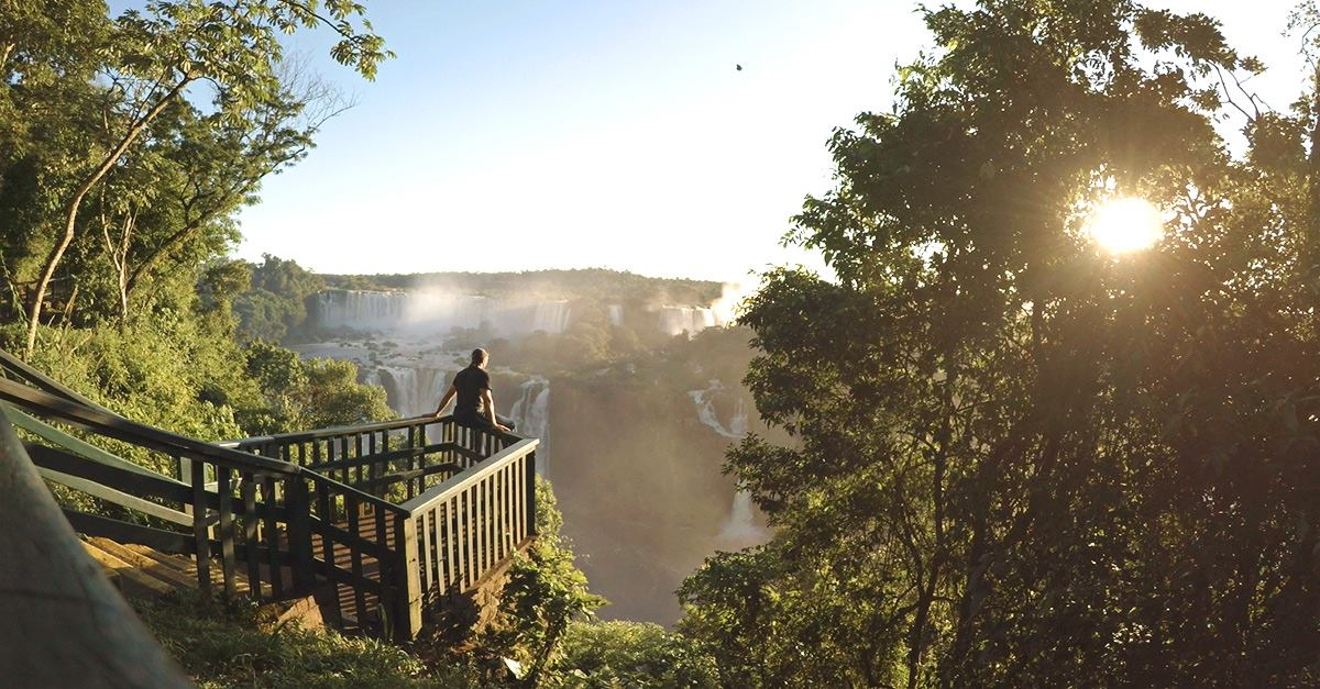 Argentine Falls tour Amazonia