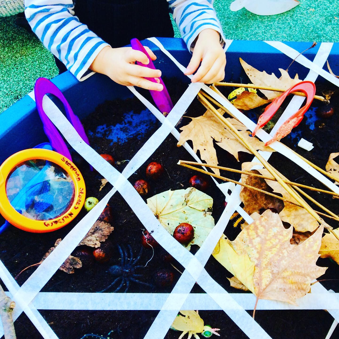 Children learning at Stepping stones nursery w12