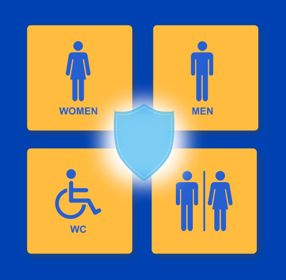 smart restroom management sensor in India