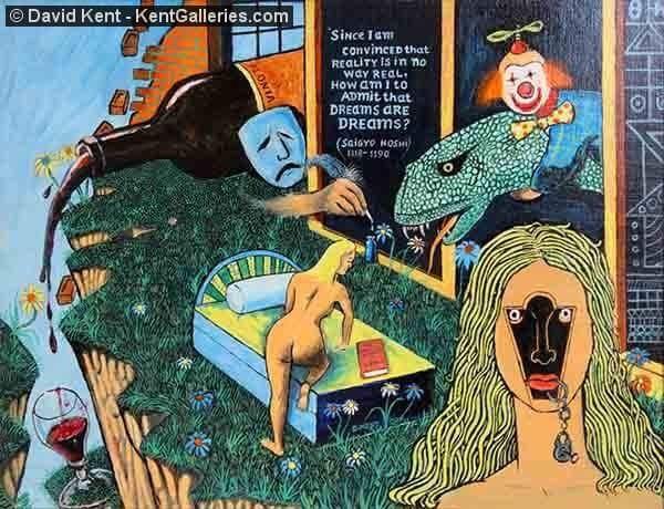 Willam Kent Galleries art dealer or art collector?