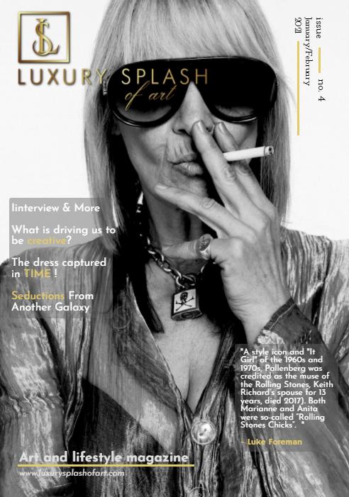 Luxury Splash Of Art – January/February Issue 4