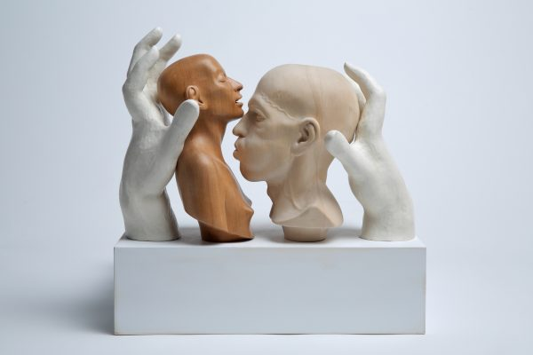 The sculpting process starts with the self, my body and those close to me