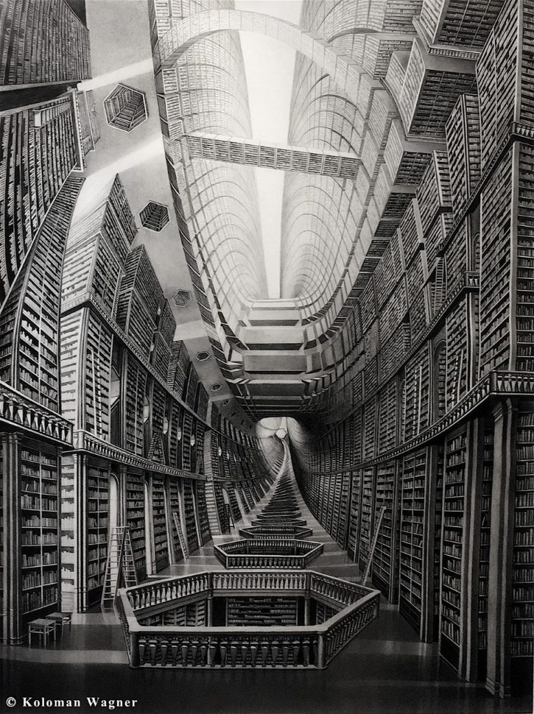 Koloman-Wagner-Library-of-Babel