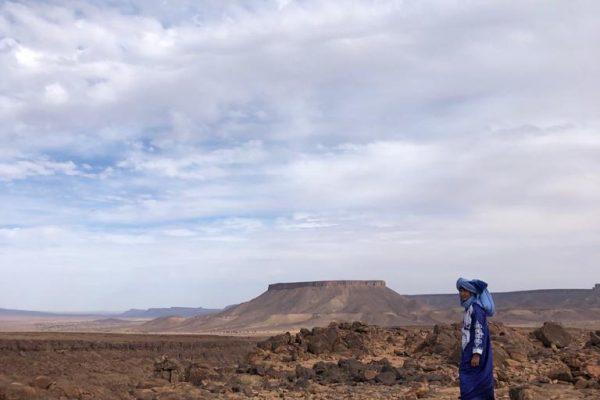Wandering in the Sahara by Beatriz Maximo